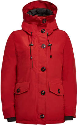 Canada Goose Rideau Down Parka with Cotton