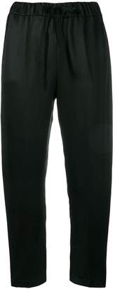 Semi-Couture Semicouture drawstring tapered trousers