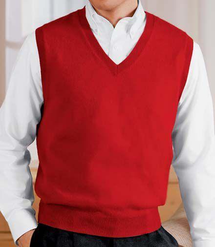 Jos. A. Bank Cashmere Vest Sweater