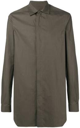Rick Owens Sisyphus officer shirt