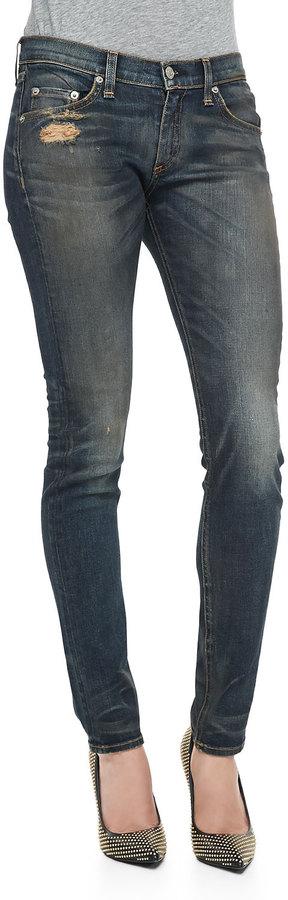 Rag and Bone Arsenal Distressed Skinny Jeans