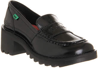 Kickers Kopey loafers Black Leather