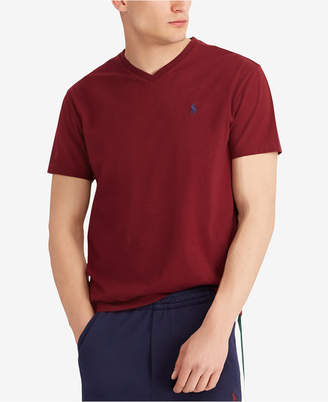 Polo Ralph Lauren Men's Big and Tall Classic-Fit V-Neck Short-Sleeve Cotton Jersey T-Shirt