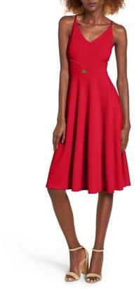 Women's Soprano Cutout Midi Dress $49 thestylecure.com