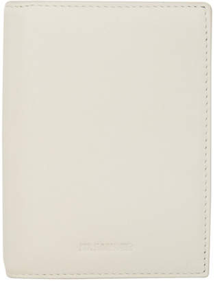 Jil Sander Off-White External Card Holder Wallet