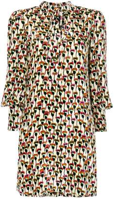 Chloé Poppy print shift dress