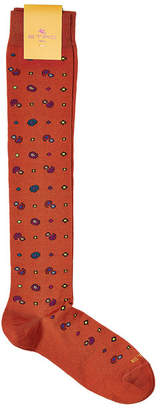 Etro Printed Cotton-Blend Socks