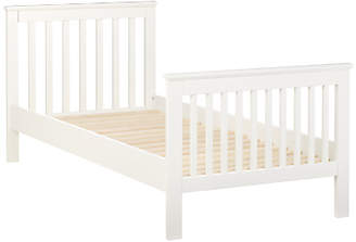 John Lewis & Partners Lasko Single Bed Frame, White