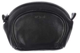 Tumi Leather Cosmetic Case