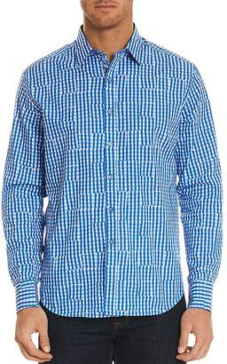 Robert Graham Perez Pattern Regular Fit Button-Down Shirt