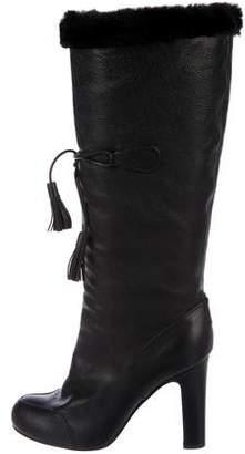 Viktor & Rolf Knee-High Tassel Boots