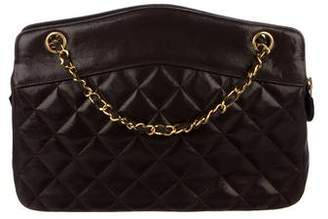 Pre Owned At Therealreal Chanel Quilted Shoulder Bag