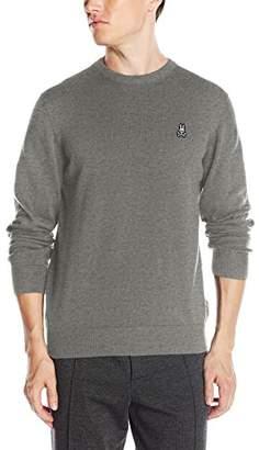 Psycho Bunny Men's Pima Cotton Crew Neck Sweater