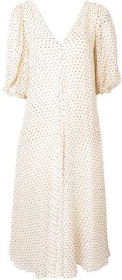 Ganni dotted dress