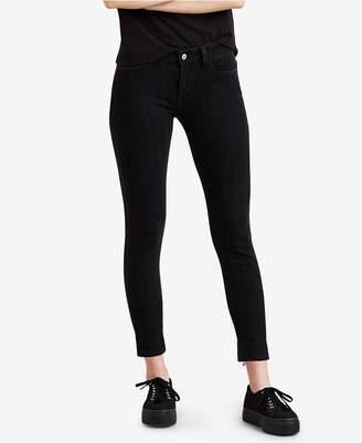 Levi's 535 Striped Super Skinny Jeans