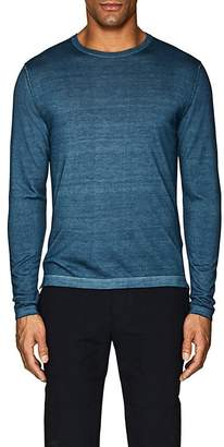 S.MORITZ Men's Garment-Dyed Cashmere Sweater