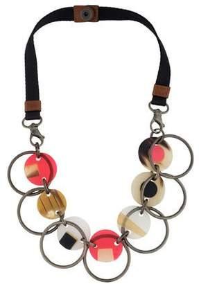 Marni Deco Circle Collar Necklace