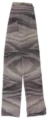 Missoni Lurex Knit Scarf
