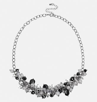 Avenue Black Gray Shaker Necklace