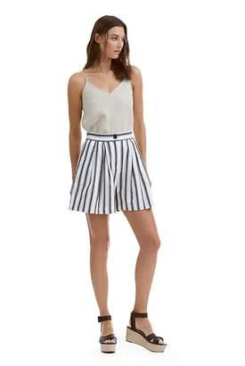 Country Road Stripe Linen Short