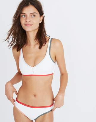 Madewell Tavik Marlowe Henley Bikini Top