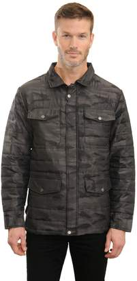 Mountain And Isles Men's Mountain and Isles Camo Puffer Shirt Jacket