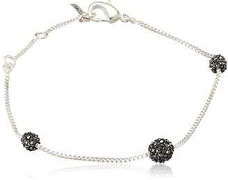 Pilgrim Women Silver Plated Strand Bracelet - 151746202 w8AAPB