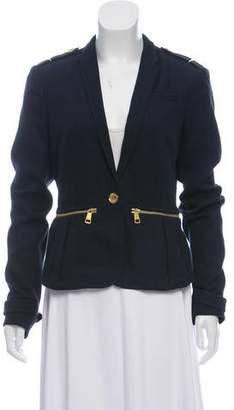 Burberry Knit Notch-Lapel Jacket w/ Tags