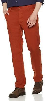 Co Quality Durables Men's Stretch Cotton Regular-Fit Chino Pant 33x34