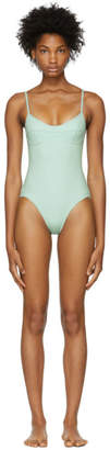 Her Line Green Sabine One-Piece Swimsuit