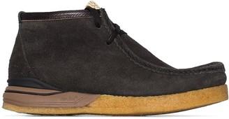 Visvim black Beuys Trekker folk boots