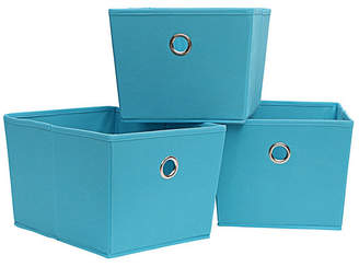 Organize It All 3-pack Kd Storage Totes