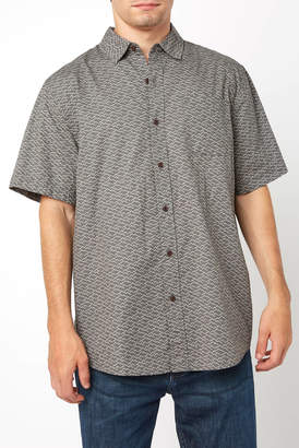 Katin Tonal Gravel Short Sleeve Button Down Shirt