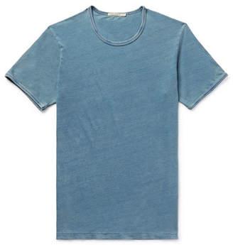 Nudie Jeans Kurt Slim-Fit Indigo-Dyed Organic Cotton-Jersey T-Shirt