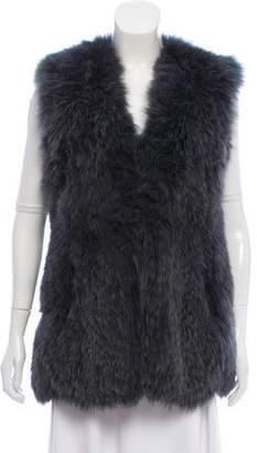 Just Cavalli Fox Fur Vest