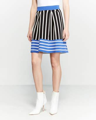 Knitss Garnet Striped Skirt