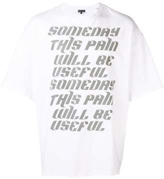 Lanvin text T-shirt