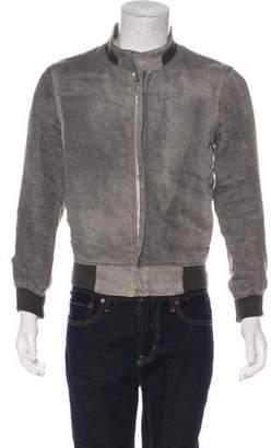 Kris Van Assche Linen Bomber Jacket