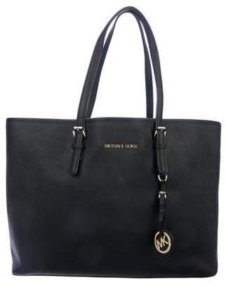 b86ad05c3293 MICHAEL Michael Kors Black Open Top Handbags - ShopStyle