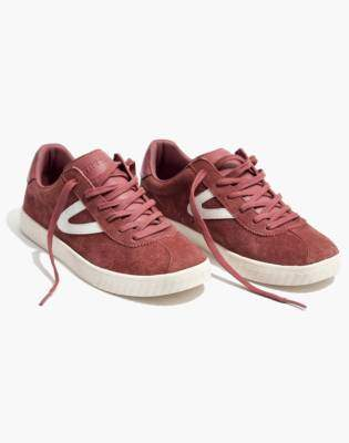 Madewell Tretorn Camden 2 Sneakers in Rose Suede