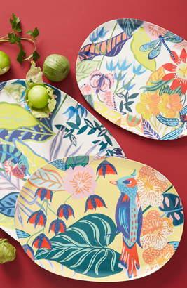Anthropologie Tropical Melamine Platter