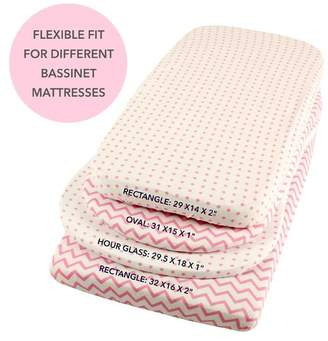 Harriet Bee Kellen 2 Piece Bassinet Bedding Sheet Set