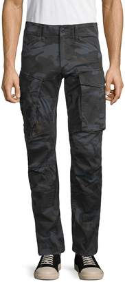 G Star Raw Rovic 3D Straight Tapered Camo Cargo Pants