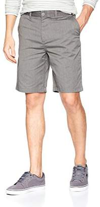 DC Men's Worker Heather Straight Shorts