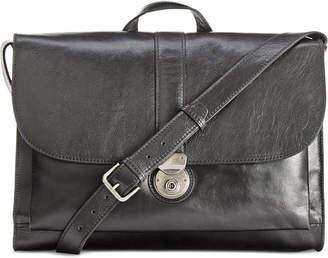Patricia Nash Nash Men's Heritage Leather Messenger Bag