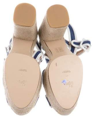 Castaner Leather Espadrille Sandals