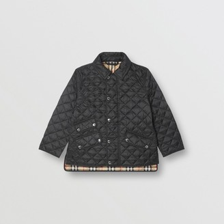 Burberry Lightweight Diamond Quilted Jacket