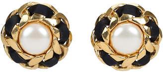 One Kings Lane Vintage Chanel Victoire de Castellane Earrings - Vintage Lux
