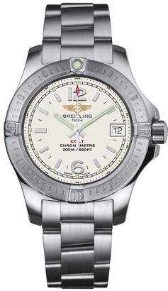 Breitling Stainless Steel Colt Quartz Watch 33mm