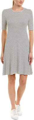 Three Dots Hyannis Stripe T-Shirt Dress